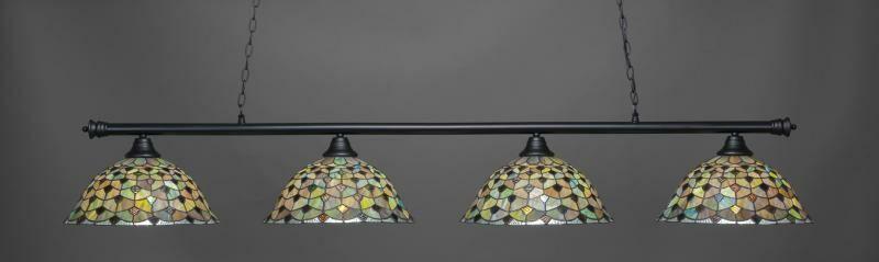 Mendez 4-Light Billiard Pendant