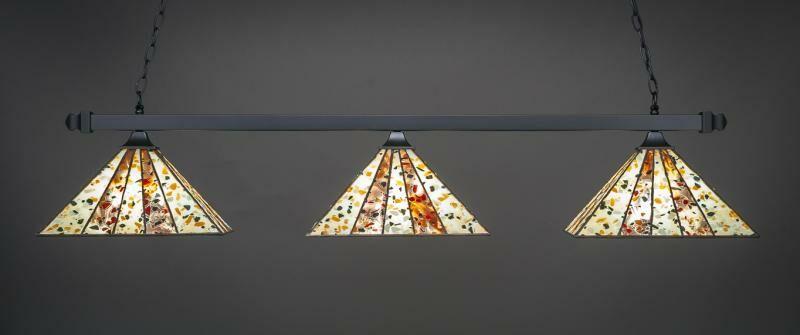 Alviso 3-Light Billiard Pendant Base Finish: Matte Black