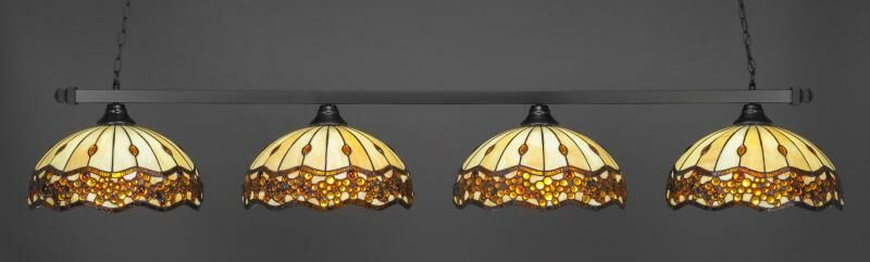 Blandy 4-Light Billiard Pendant