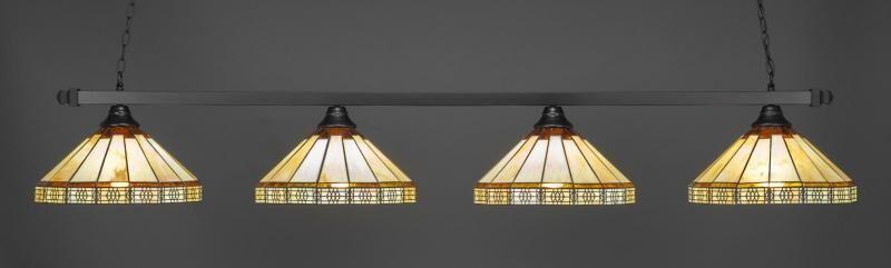 Bitting 4-Light Billiard Pendant