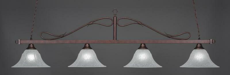 Reba 4-Light Pendant Shade Color: White