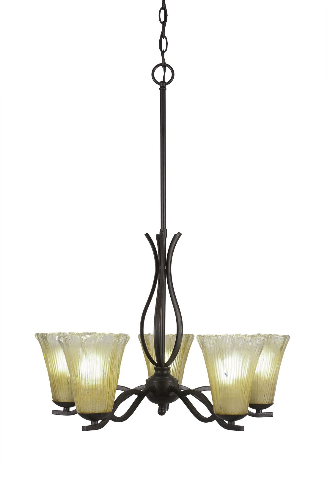 Hiroko 5-Light Shaded Chandelier