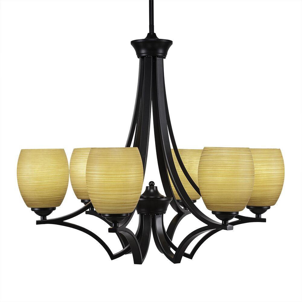 Couto 6-Light Shaded Chandelier