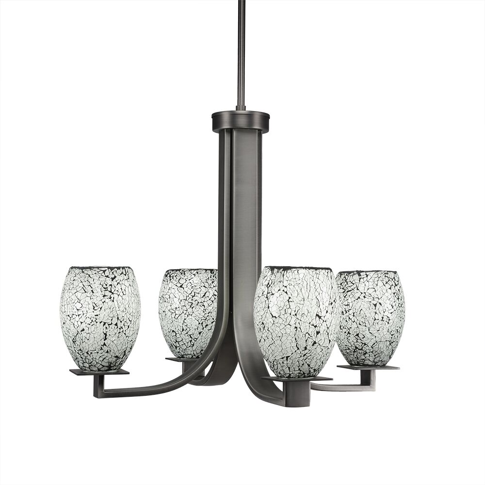 Besaw 4-Light Shaded Chandelier