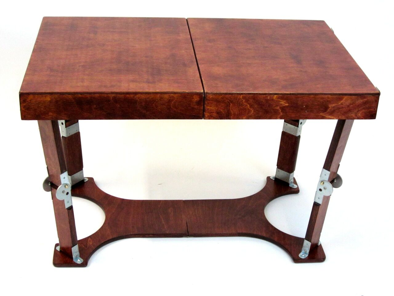 Alpharetta Portable Folding Coffee Table Color: Red Mahogany
