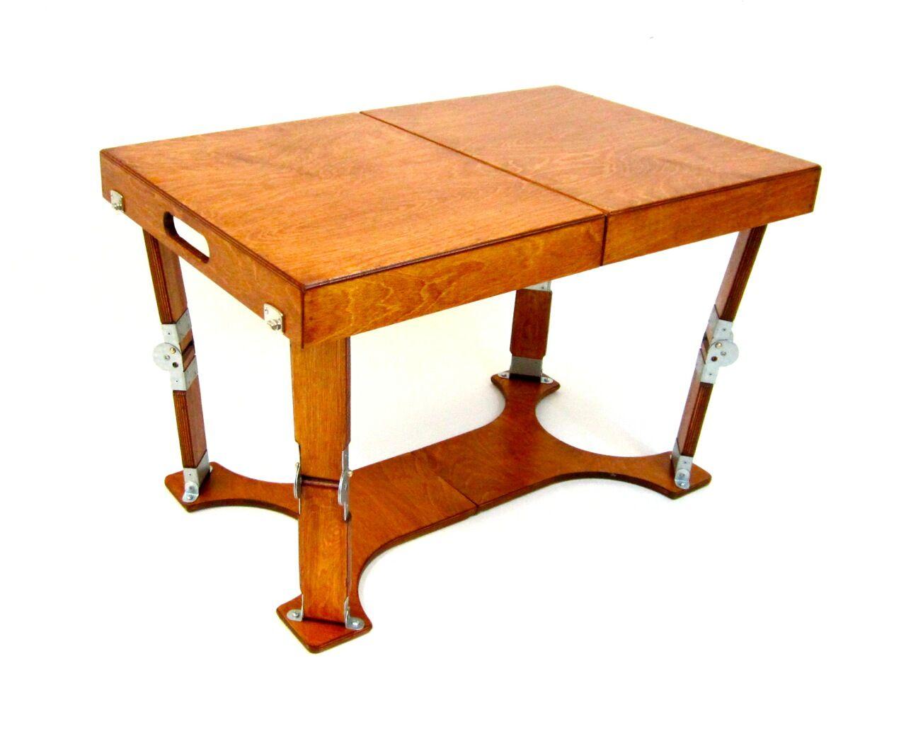 Alpharetta Portable Folding Coffee Table Color: Light Cherry
