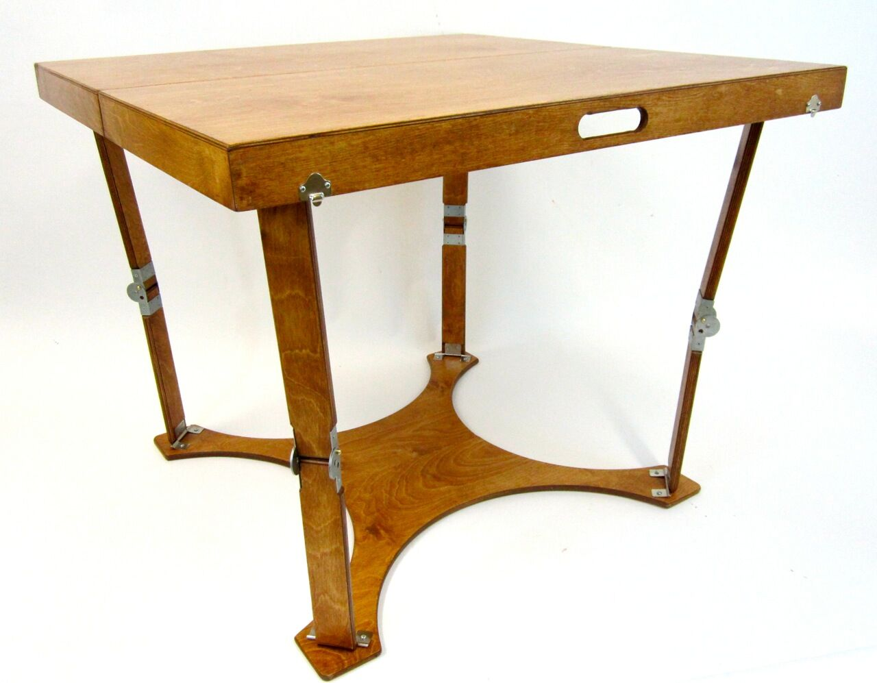 Puzzle Folding Bar Table Finish: Warm Oak