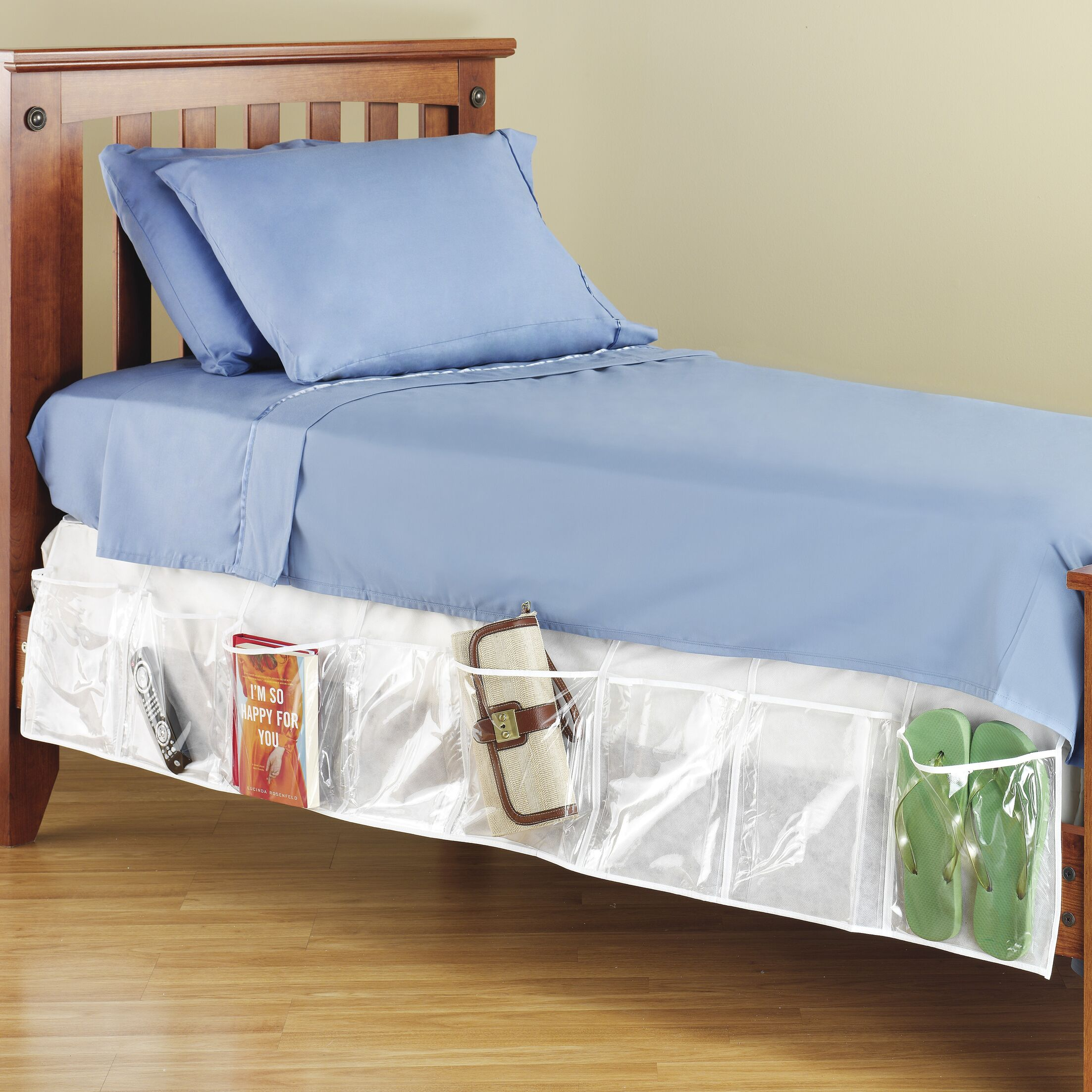 Bed Skirt Organizer