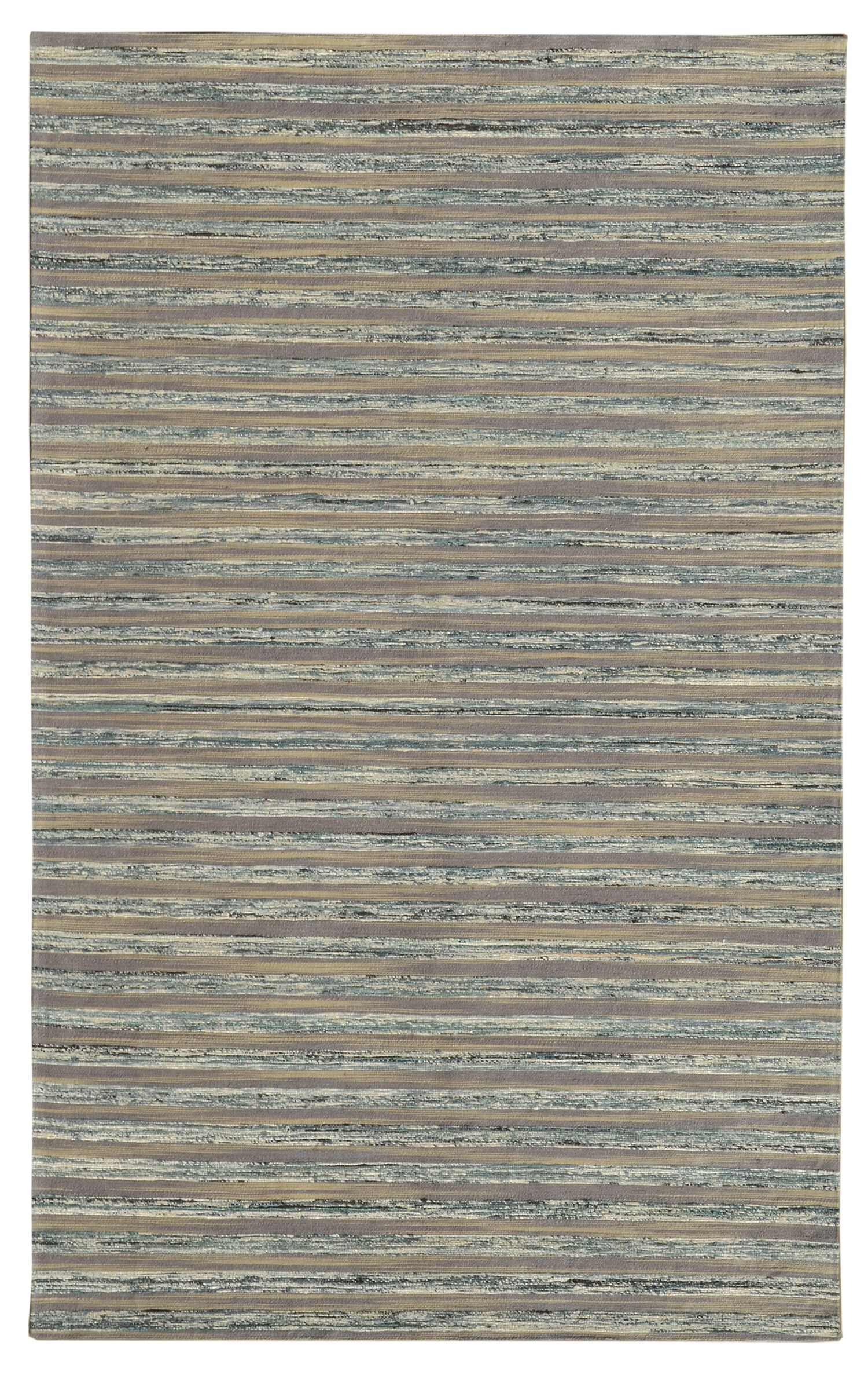 Lazzarro Gray Area Rug Rug Size: 5' x 7'6