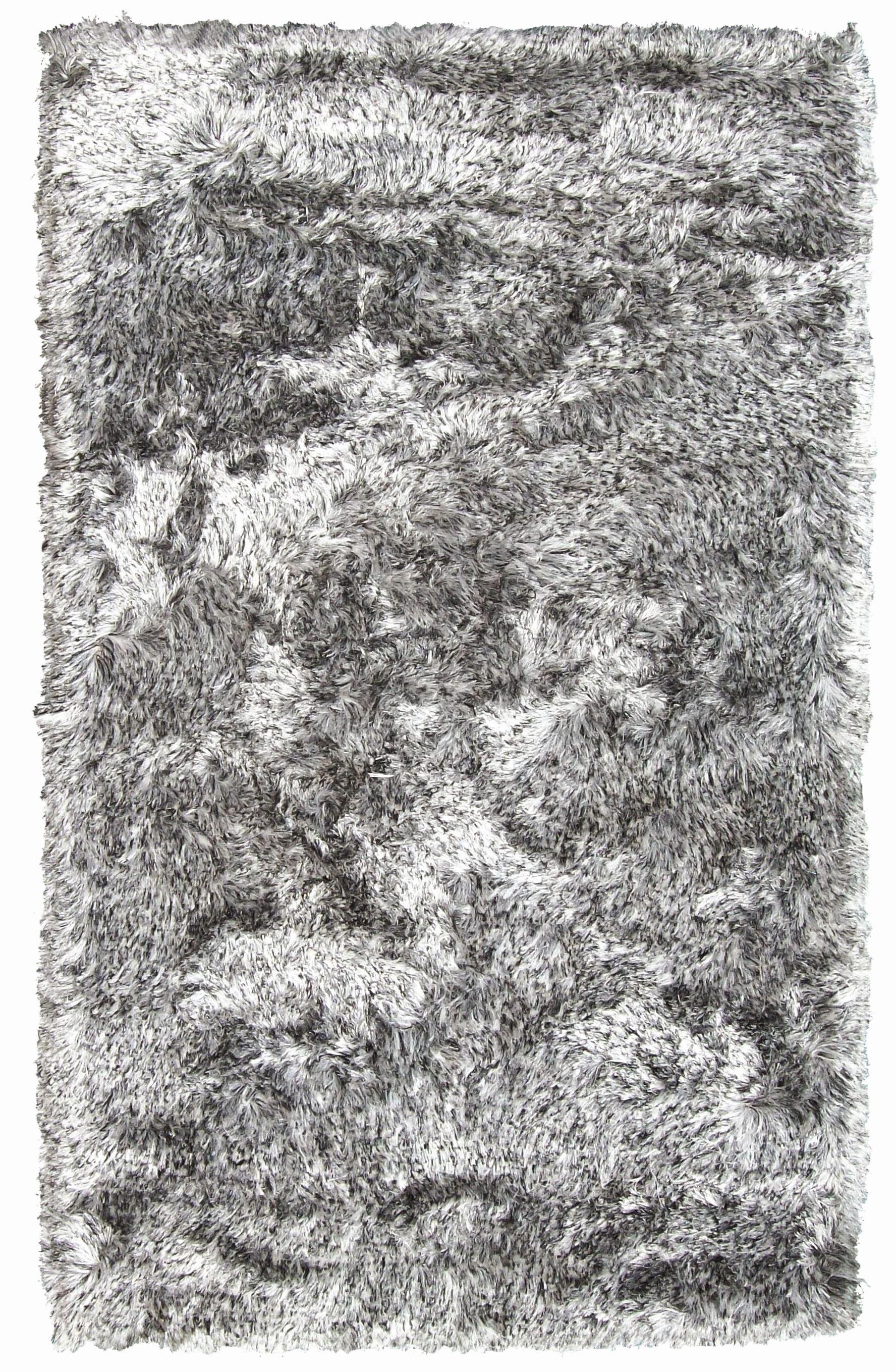 Crystal Multi White/Black Rug Rug Size: Rectangle 8' x 11'