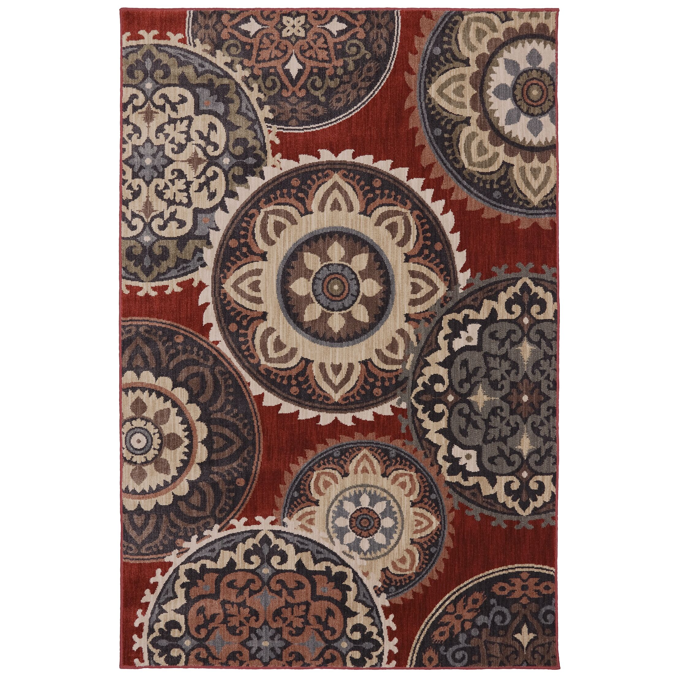 Dryden Summit View Ashen Ornamental Rug Rug Size: Rectangle 9'6