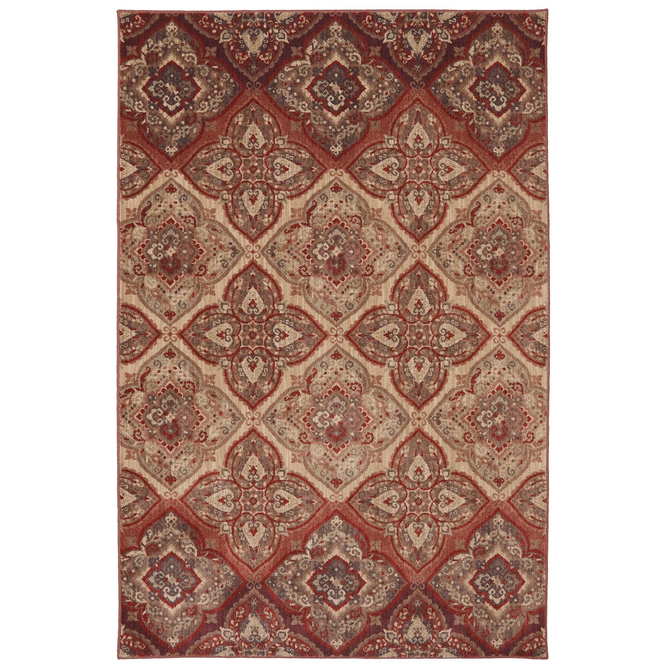 Dryden Mesquite Ornamental Chapel Rug Rug Size: Rectangle 8' x 11'
