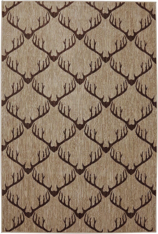 Dryden Laredo Light Camel Area Rug Rug Size: Rectangle 3'6