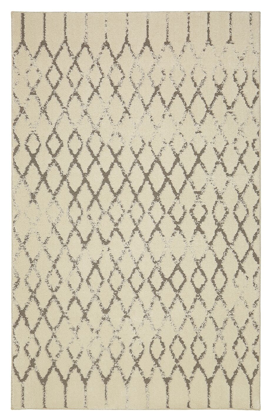 Carlsbad Gray/Beige Area Rug Rug Size: Rectangle 5' x 8'