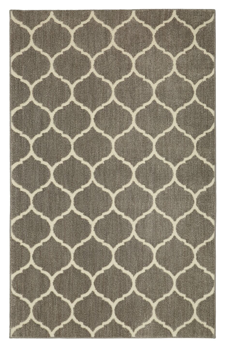 Kalispell Gray Area Rug Rug Size: Rectangle 8' x 10'