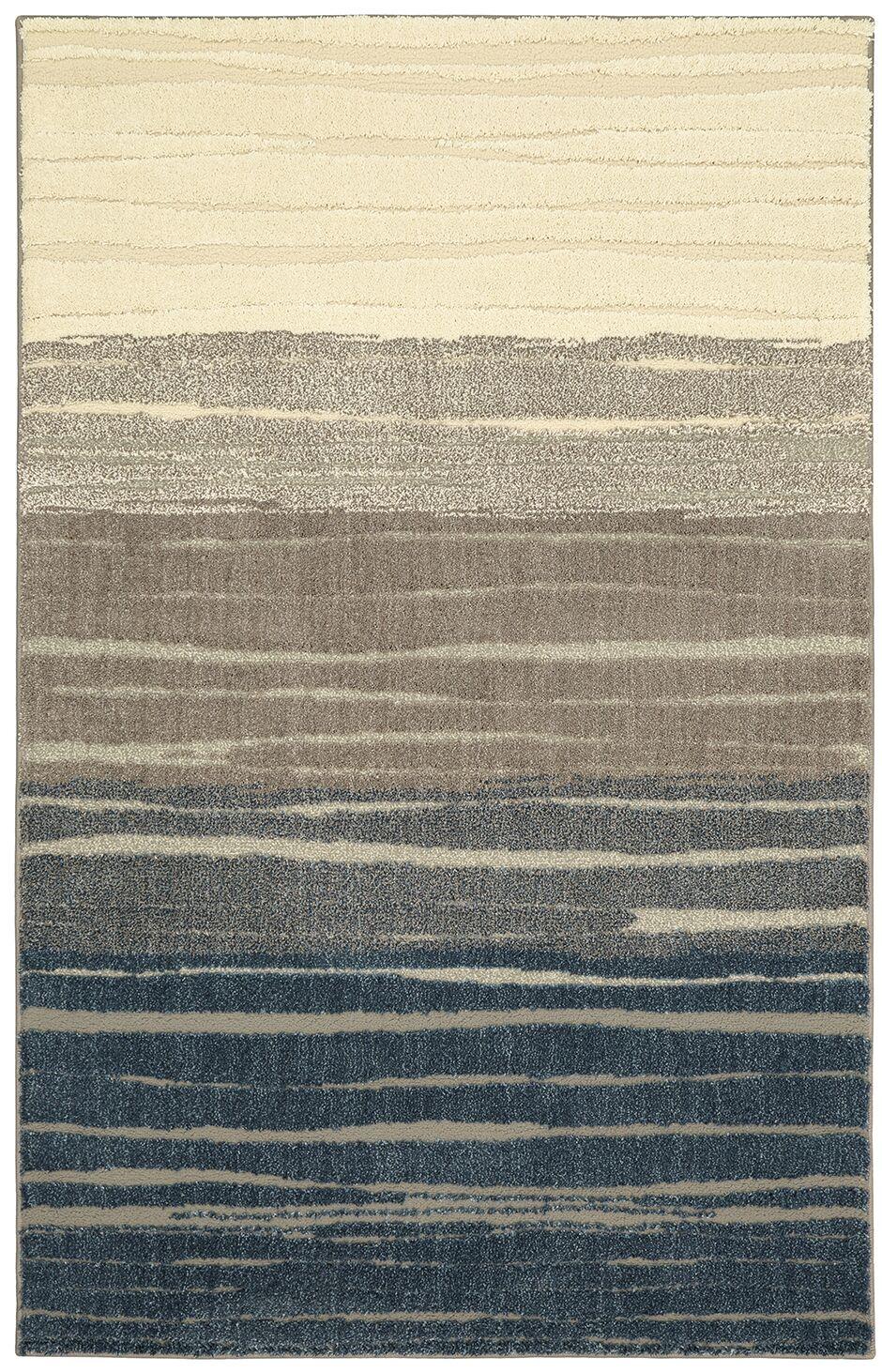Pagosa Blue/Gray Area Rug Rug Size: Rectangle 8' x 10'