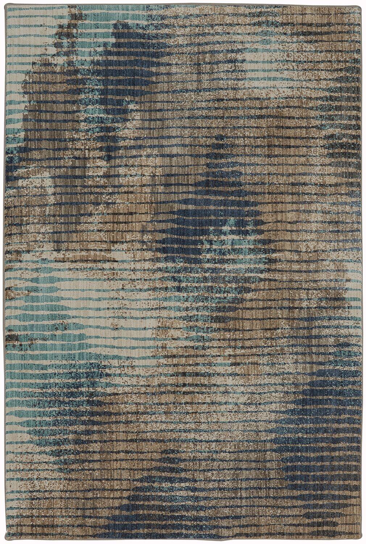 Muse Dark Linen Area Rug Rug Size: Rectangle 5'3