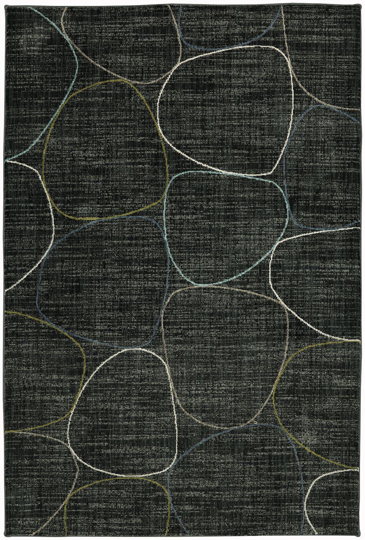 Metropolitan Dark Gray Area Rug Rug Size: Rectangle 5'3