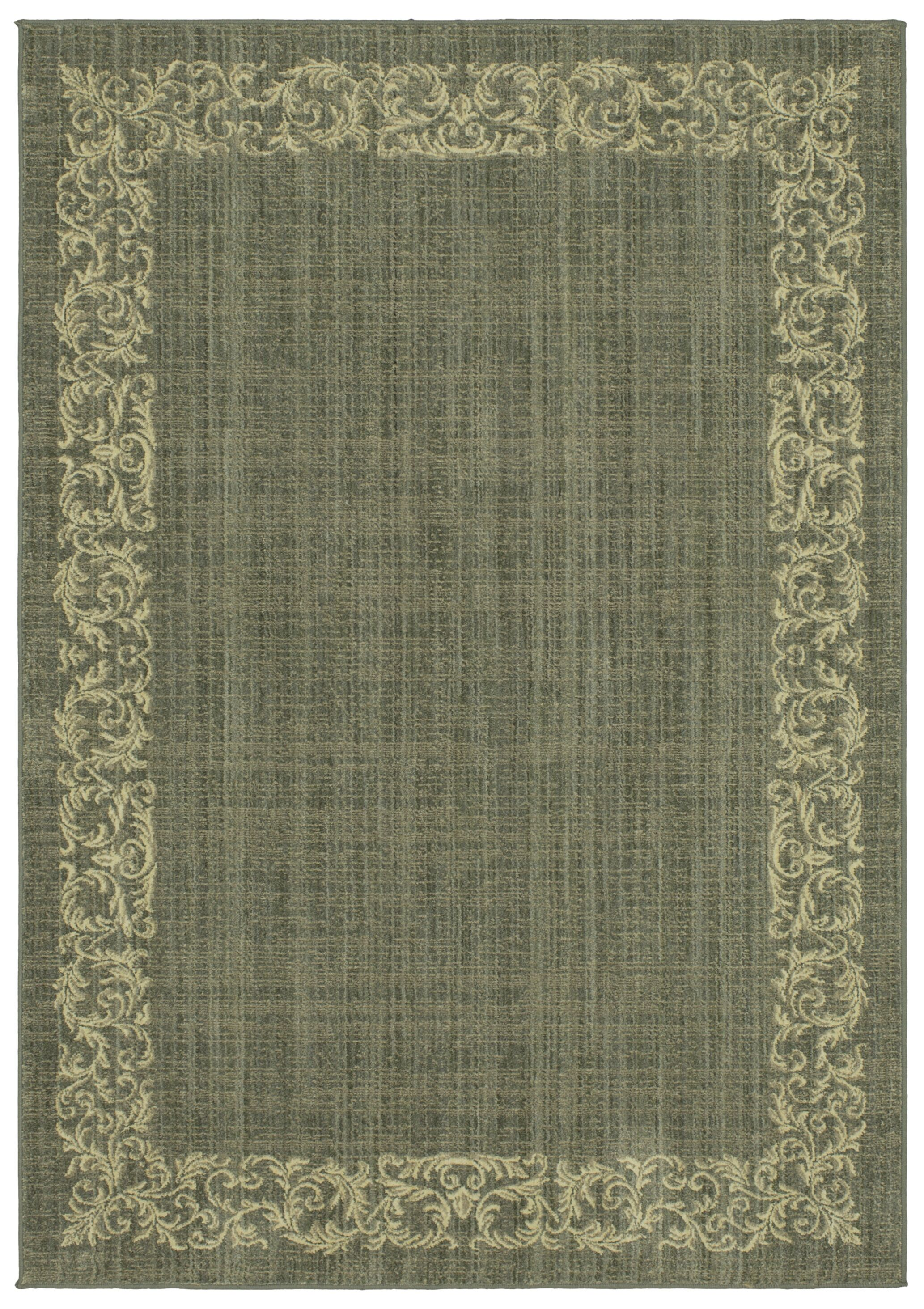 Liola Green Area Rug Rug Size: Rectangle 8' x 10'