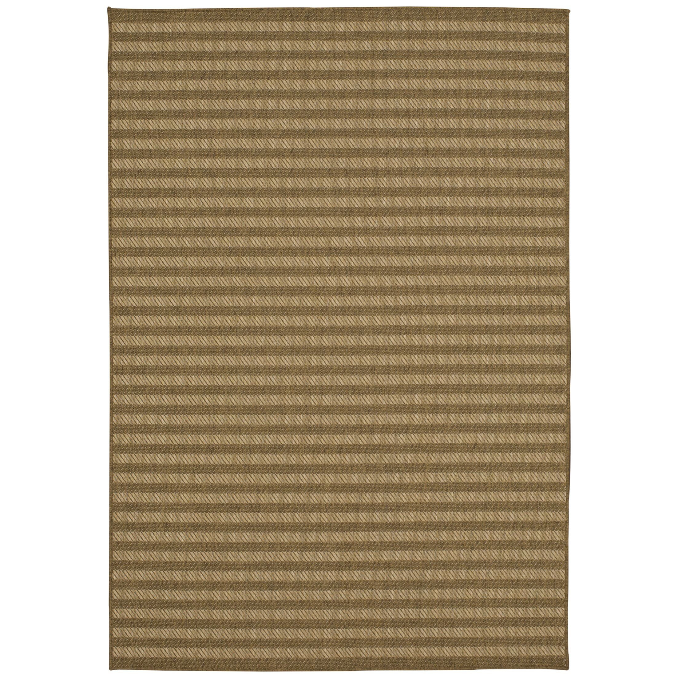 Engasser Indoor/Outdoor Tan Area Rug Rug Size: Rectangle 10'6