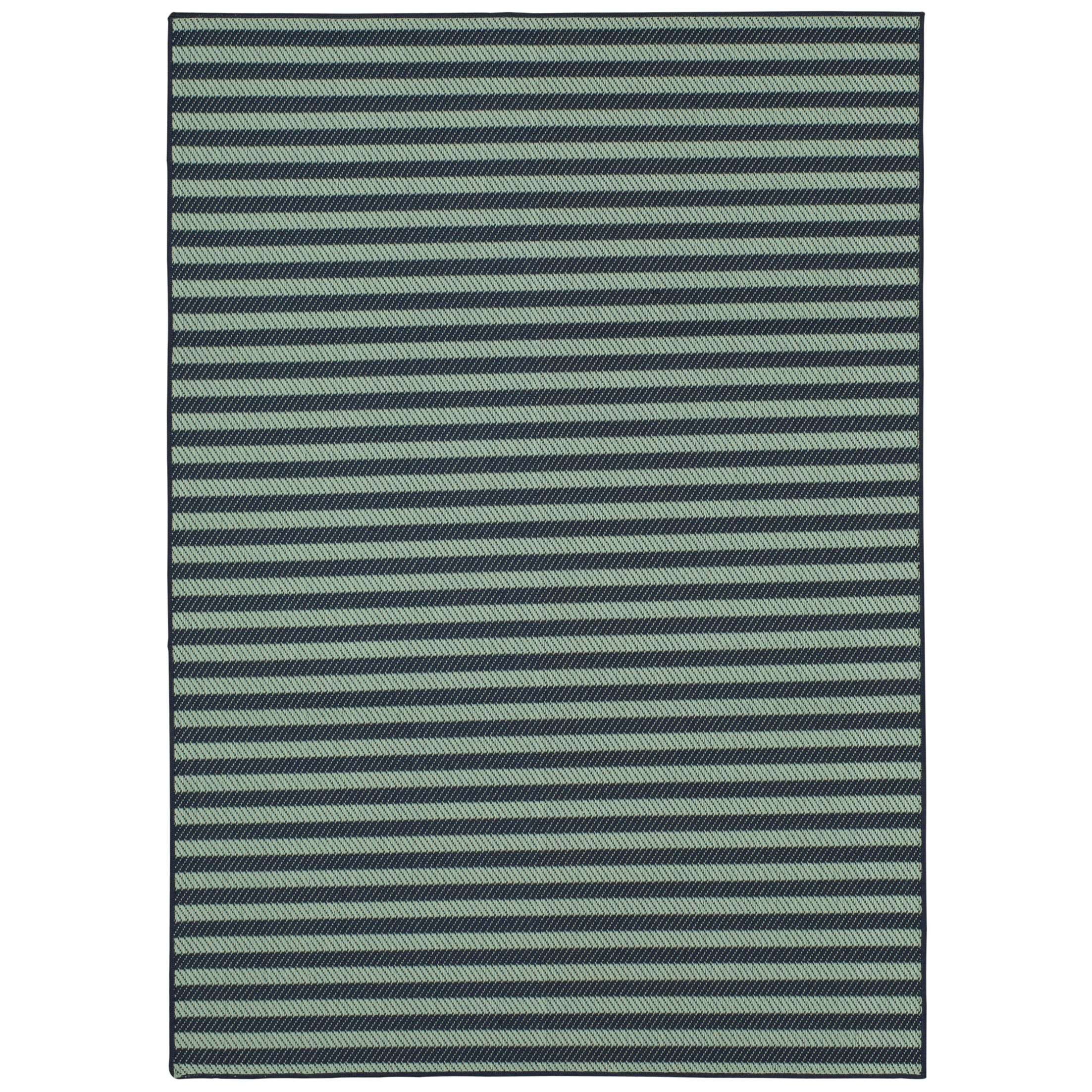 Kenison Indoor/Outdoor Aqua Area Rug Rug Size: Rectangle 9' x 12'