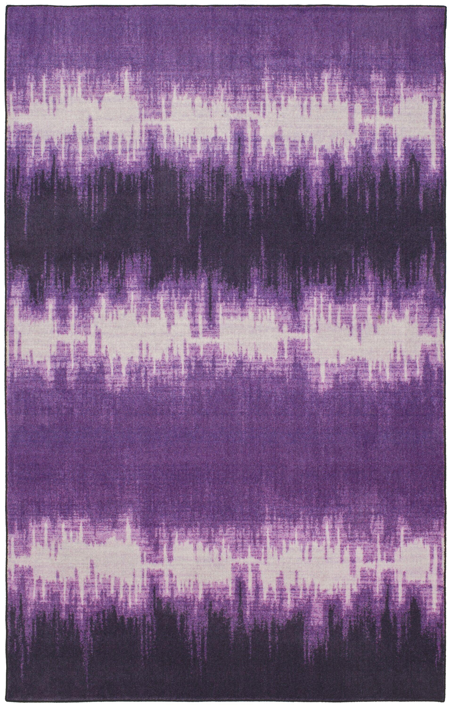 Ranstead Purple Area Rug Rug Size: Rectangle 5' x 8'