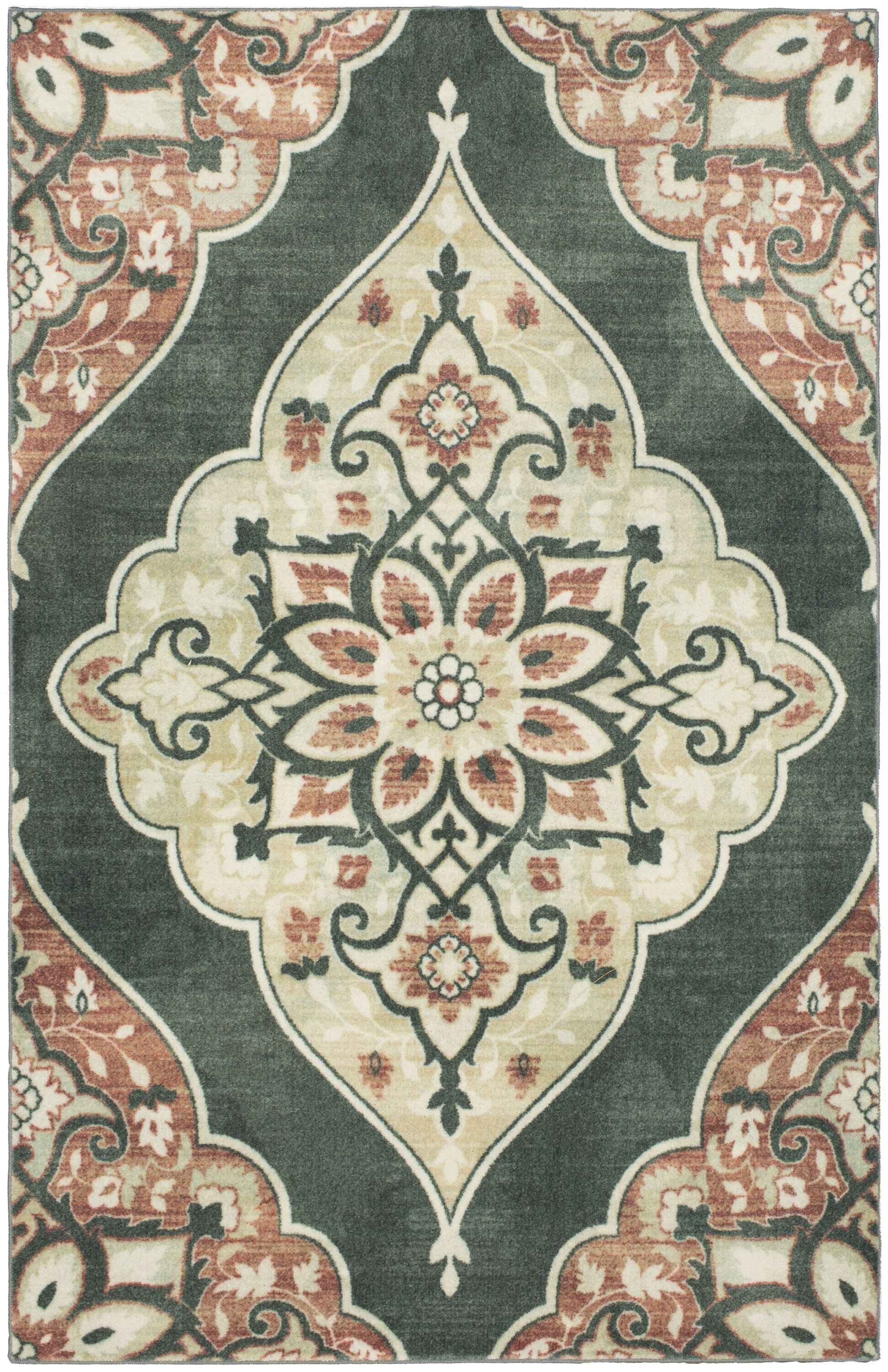 Jailyn Brown/Gray Area Rug Rug Size: Rectangle 5' x 8'