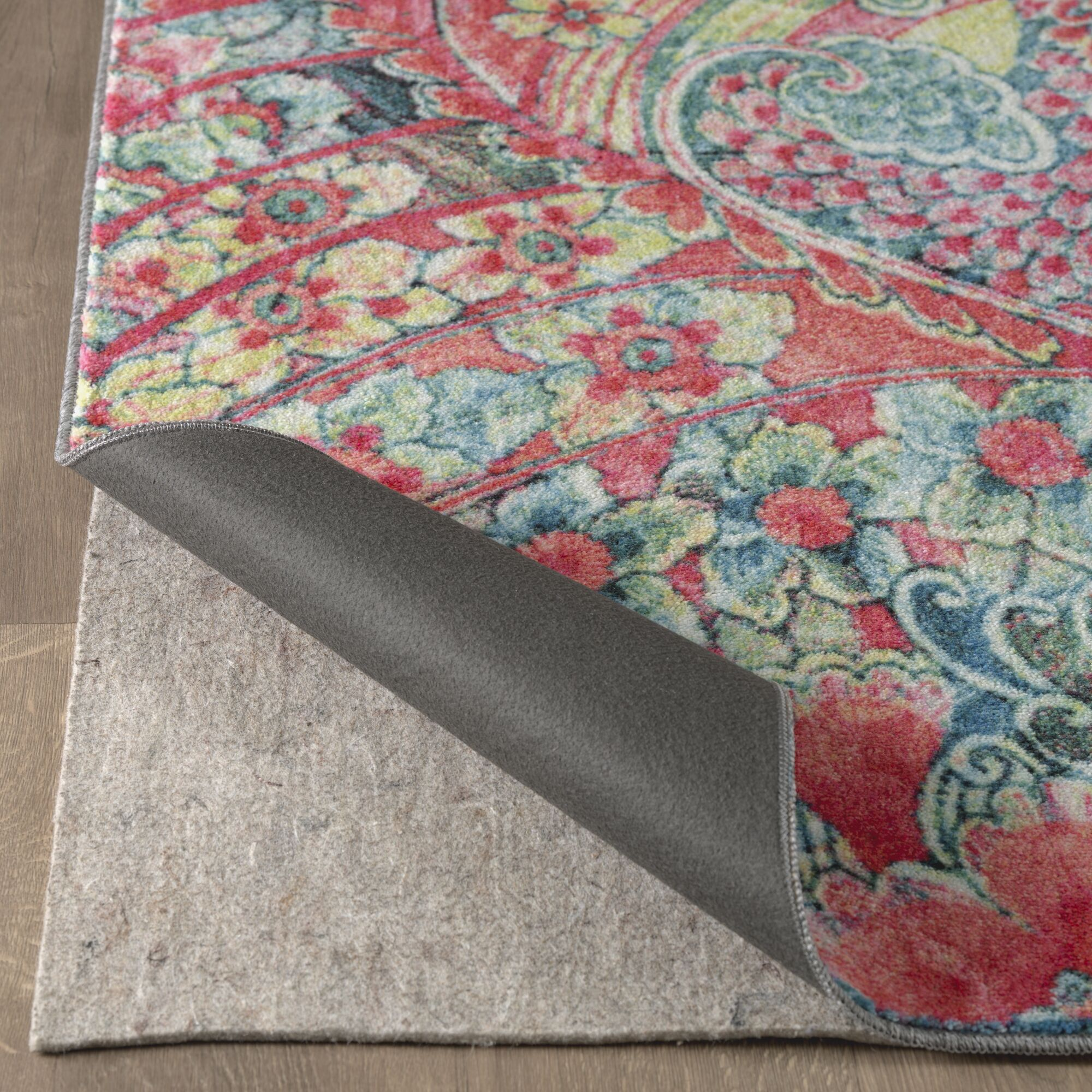 Edinboro Tropical Pink Area Rug Rug Size: Rectangle 8' x 10'