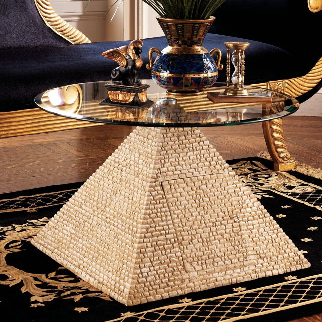 Great Egyptian Pyramid Coffee Table