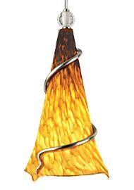 Ovation 1-Light Cone Pendant Finish: Satin Nickel