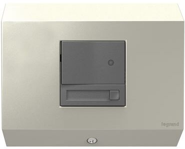 adorne Control Box with Paddle Dimmer (Set of 4) Finish: Titanium