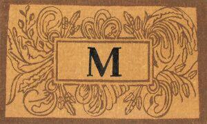 Marseille Leave Doormat Mat Size: Rectangle 30
