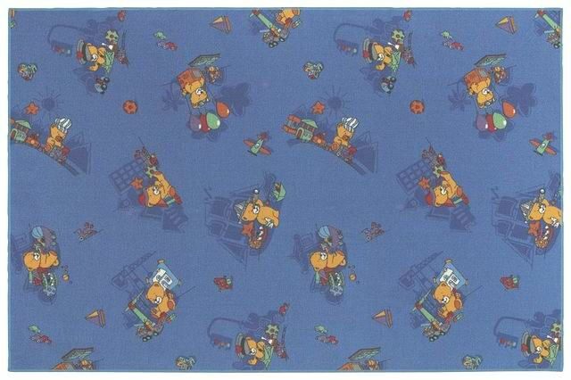 Children's Play Funny Bears Area Rug Rug Size: Rectangle 4' x 6'