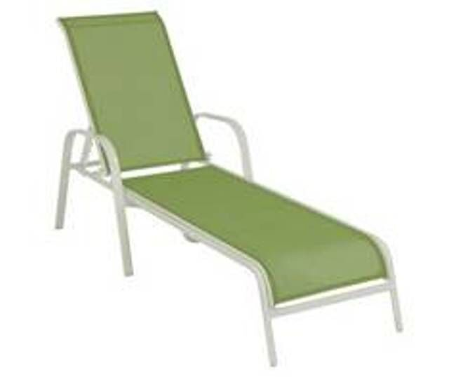 Mariela Green Chaise Lounge
