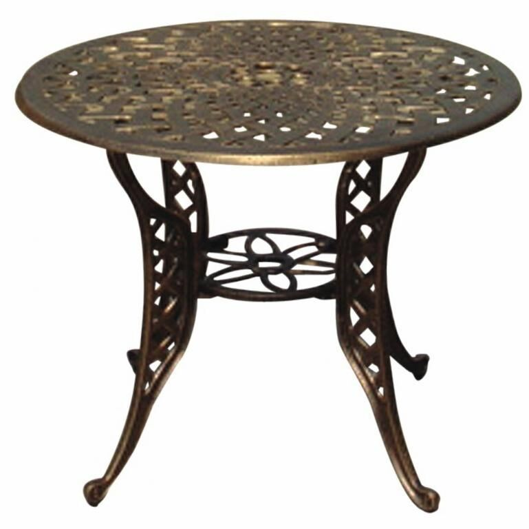 Mesh Round Dining Table