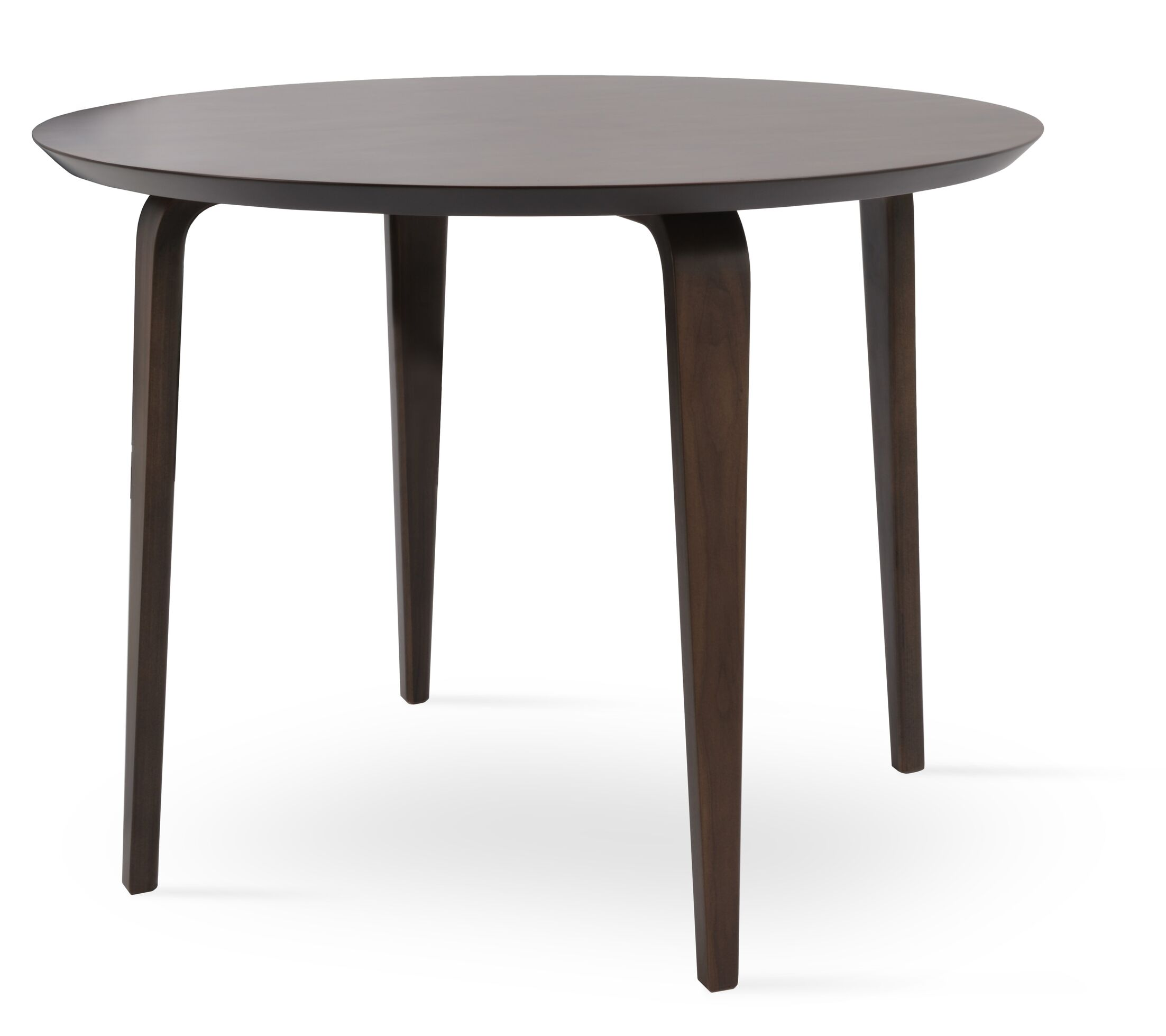 Chanelle Dining Table Color: American Walnut