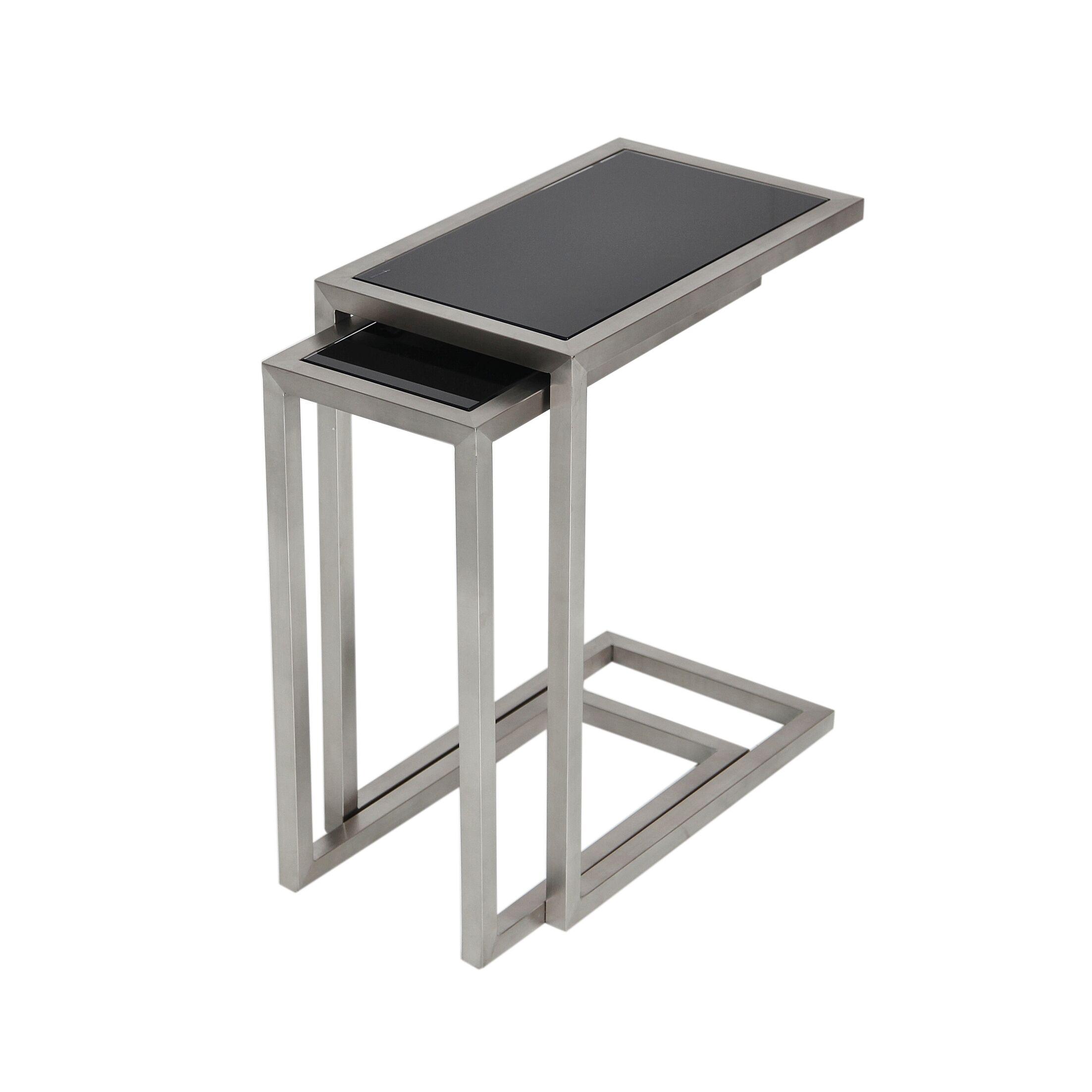 Alfa Nesting Tables Color: Wenge Oak