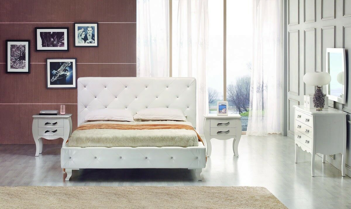 Owen Twin Upholstered Platform Bed