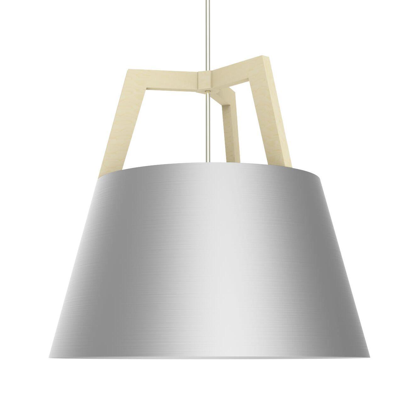 Imber 1-Light LED Cone Pendant Size: 22