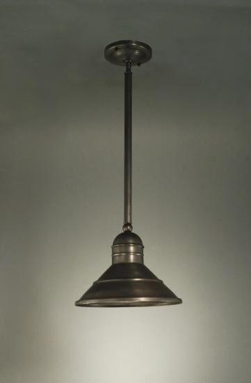 Barn 1-Light Cone Pendant Finish: Verdi Gris