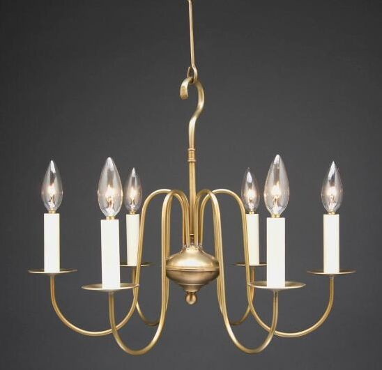 Sockets S-Arms Hanging 6-Light Chandelier Finish: Verdi Gris