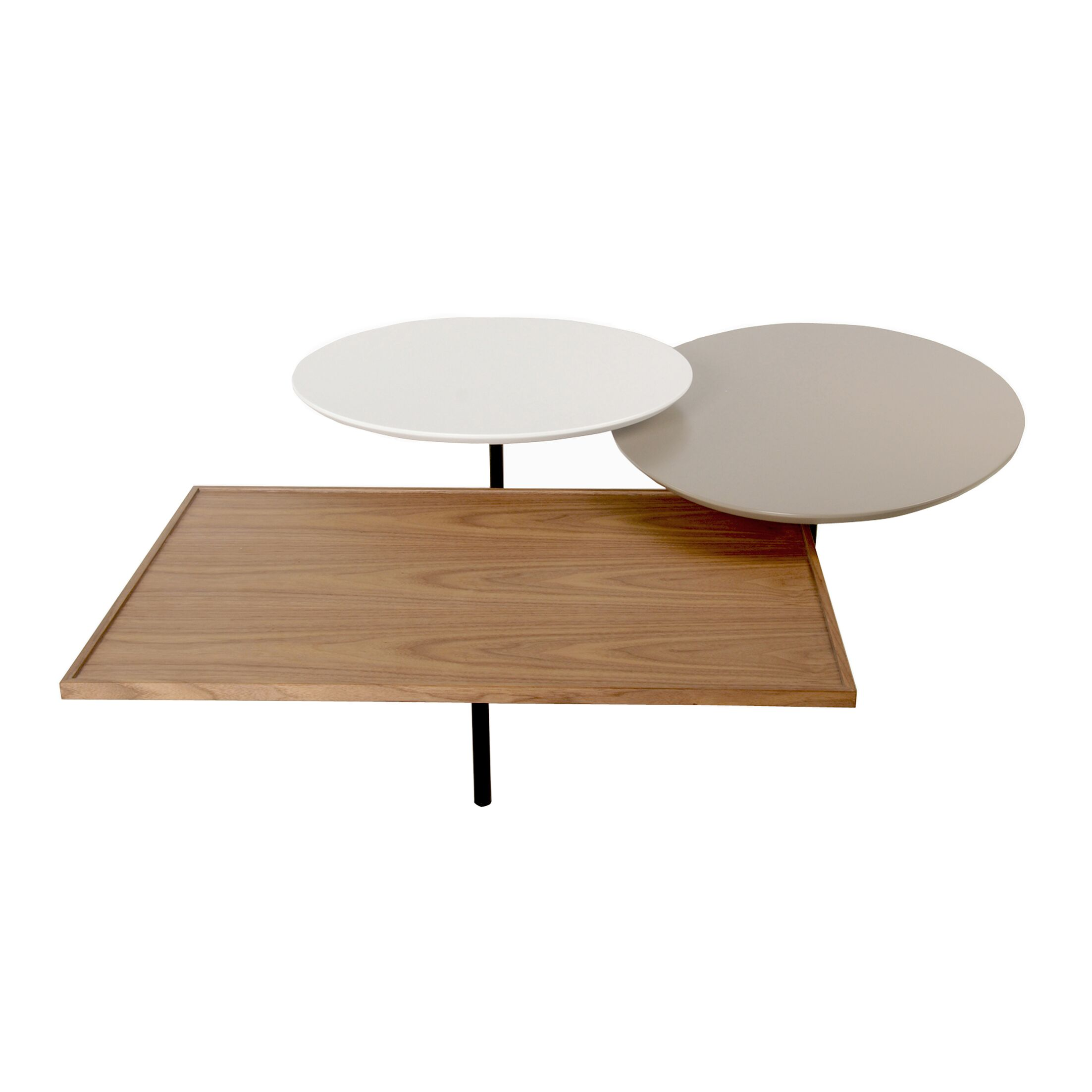 Leyden Trio Rotating Coffee Table