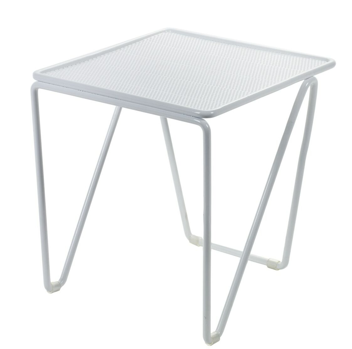 Piner Small Steel End Table