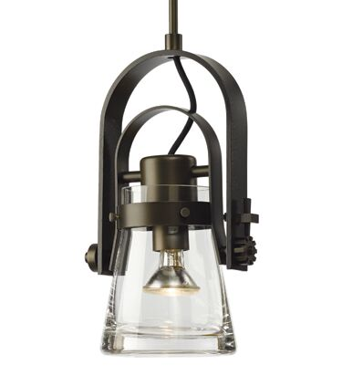 Erlenmeyer 1-Light Bell Pendant Finish: Natural Iron, Size: 59.3