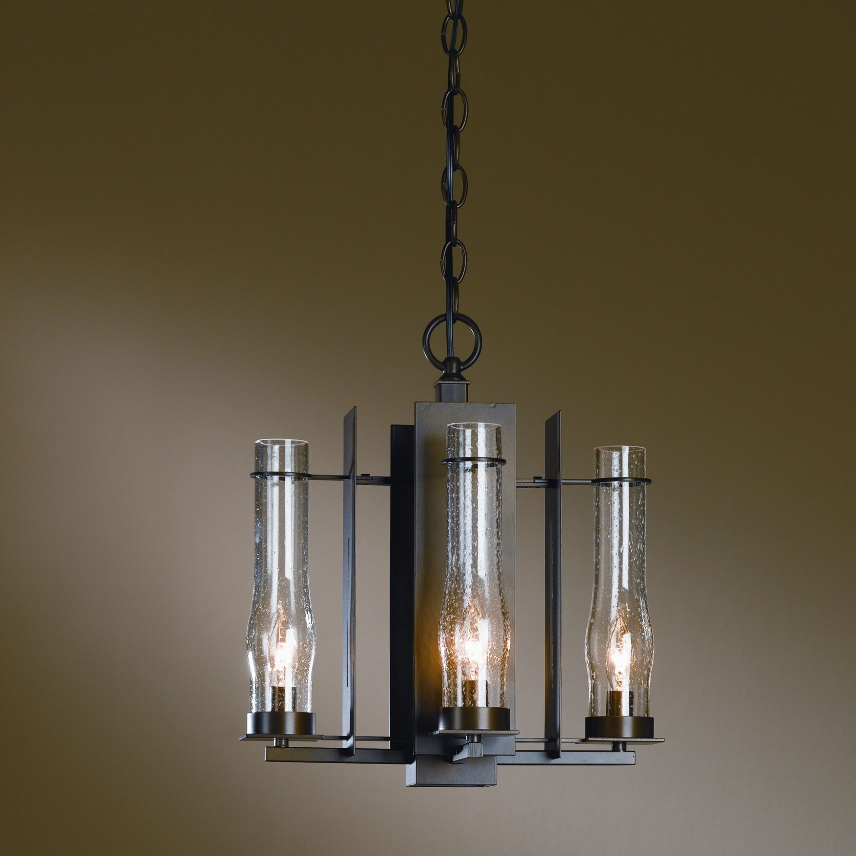 New Town 4-Light Shaded Chandelier Finish: Bronze