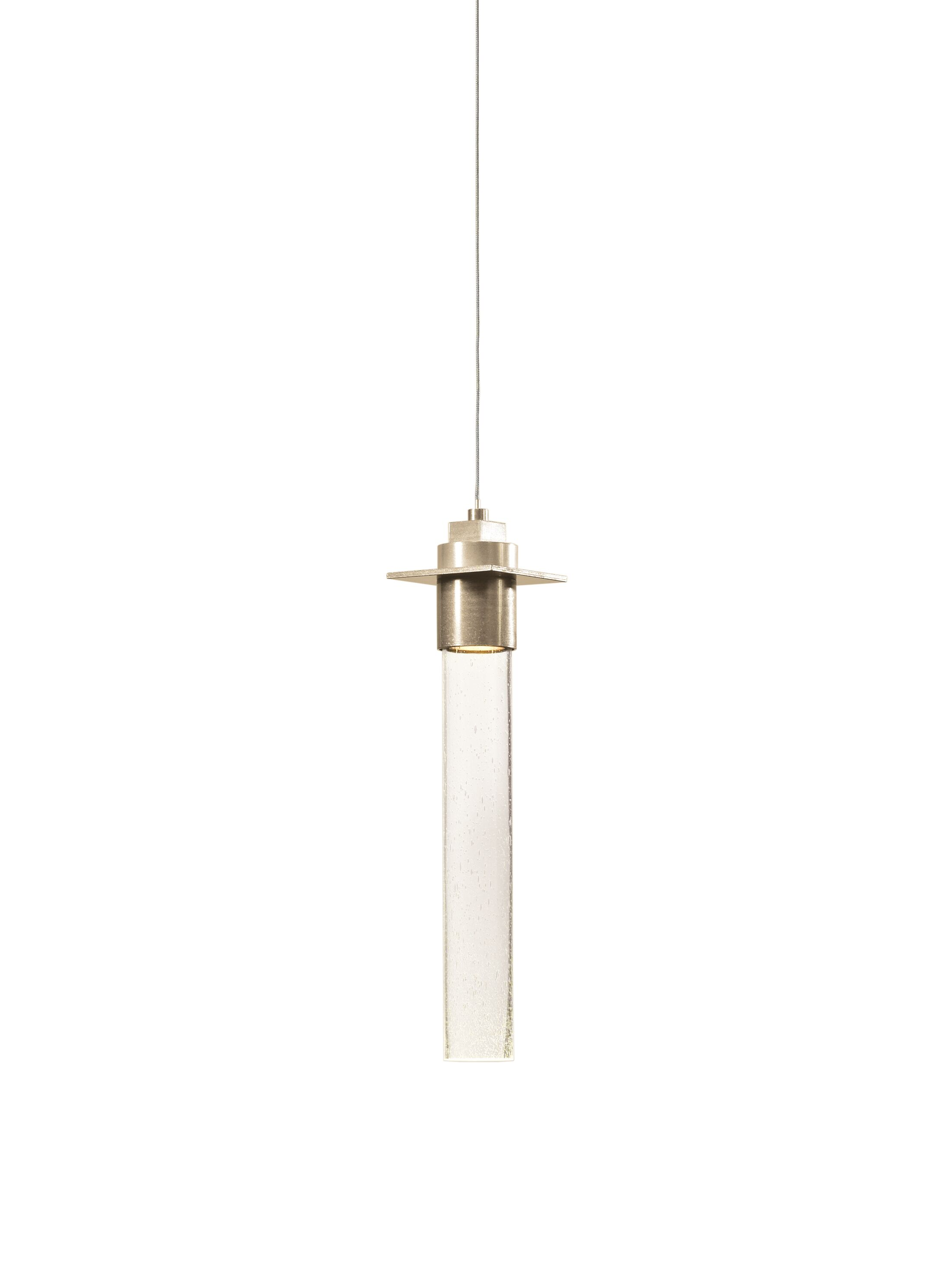 Airis 1-Light Cylinder Pendant Diffuser Type: Glass Tube Diffuser
