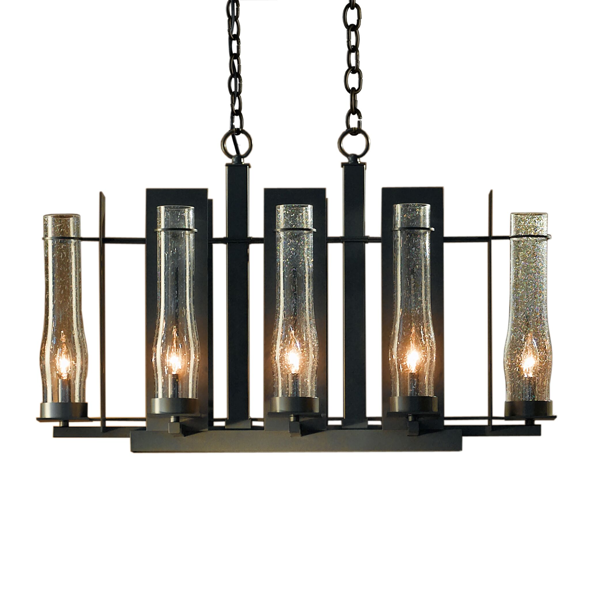 New Town 8-Light Kitchen Island Pendant Finish: Dark Smoke