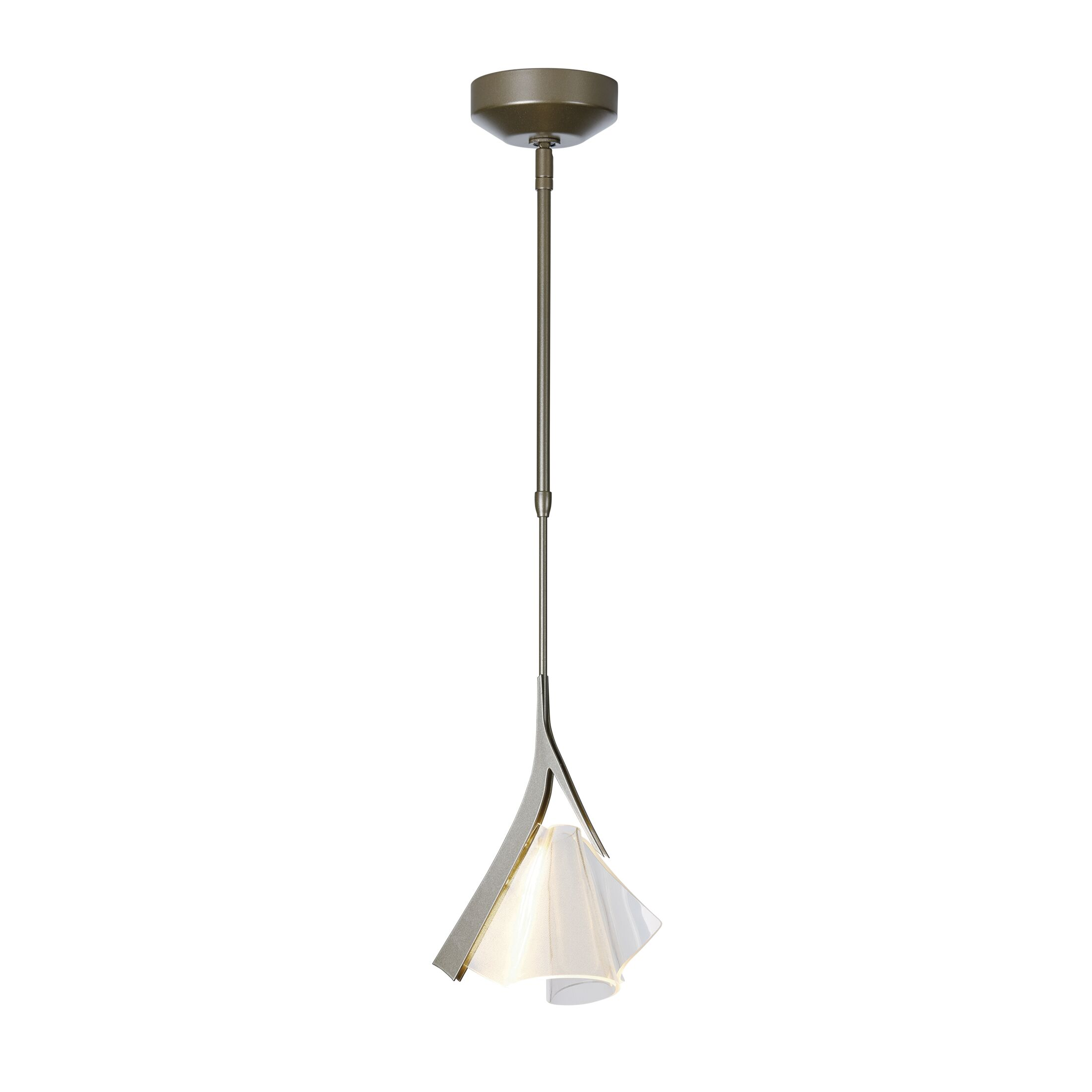 Mobius 1-Light Novelty Pendant Size: 59.1