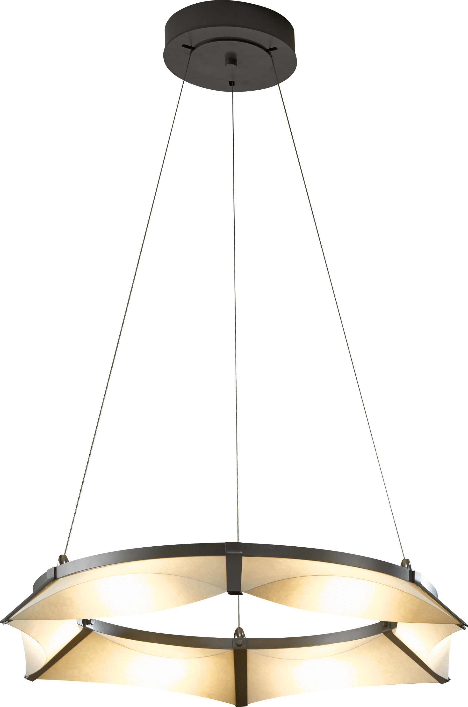 Bento  LED  Pendant Finish: Black