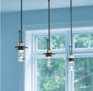 Erlenmeyer 1-Light Bulb Pendant Finish: Translucent Burnished Steel, Size: Standard (32.8